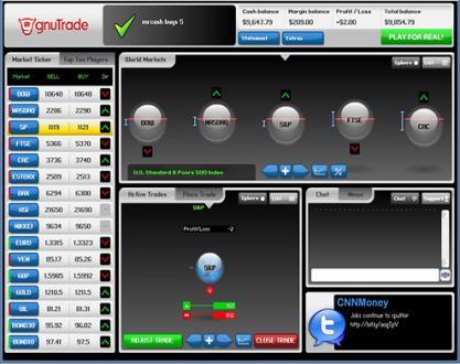 Plataforma de trading de gnuTrade