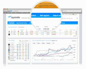 Apertura de una cuenta de trading con un broker asociado a Ayondo