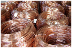 cobre como materia prima