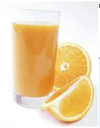 jugo de naranja materia prima