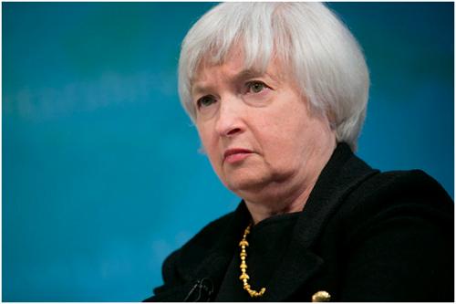 Fotografía de Janet Yellen, sucesora de Ben Bernanke