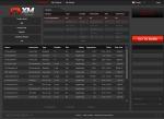 Interfaz del sistema de concursos de trading del broker XM