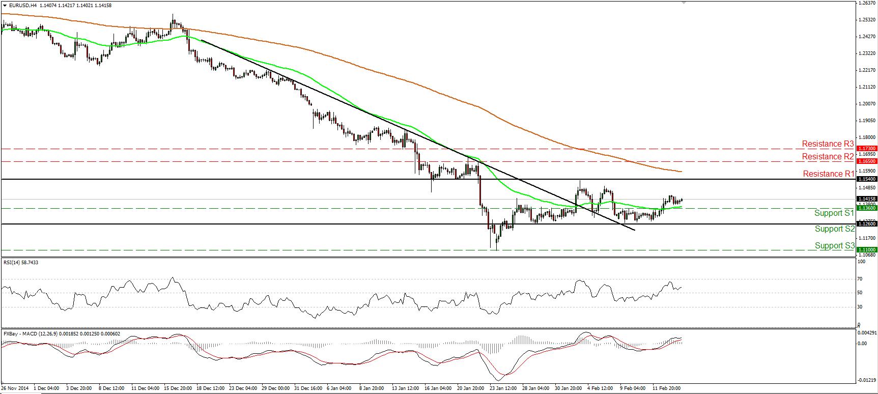 Par EUR/USD se mantiene a la expectativa ante lo que puede pasar con respecto a Grecia