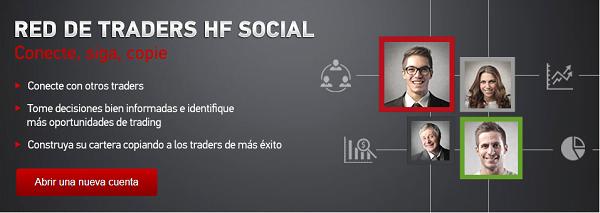 Red de trading social HF Social de HotForex