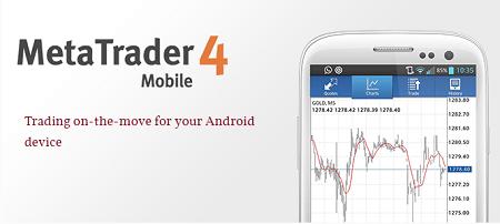 Plataforma Metatrader 4 para Android