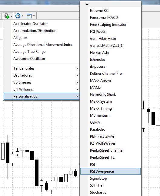 Activación y uso del indicador instalado