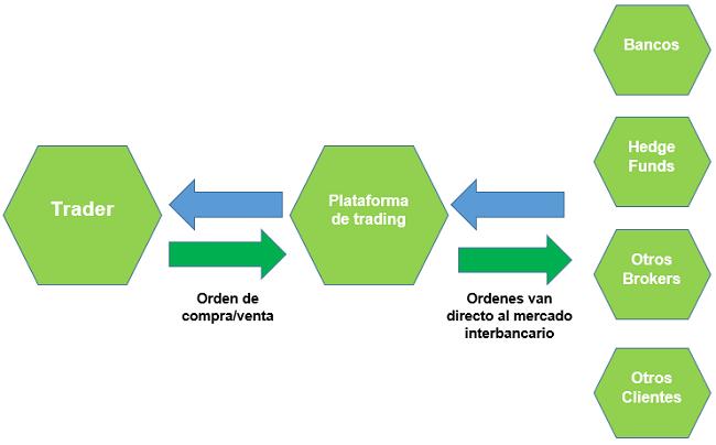 ¿Cómo operan los brokers ECN?