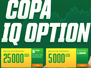 Concurso de trading Copa IQ Option