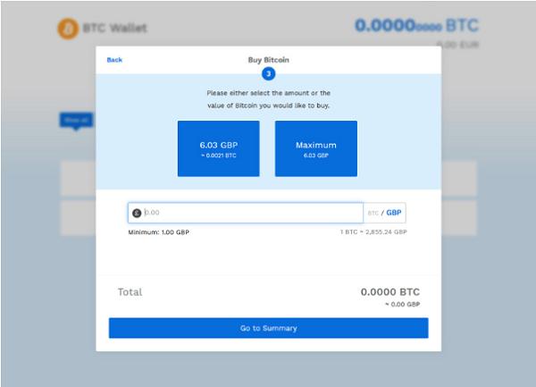 compra de Bitcoin en Bitpanda