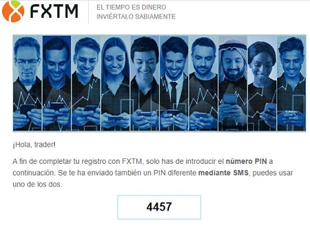 apertura de cuenta FXTM