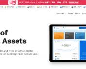 Sitio web del exchange Bitpanda