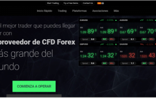 sitio web del broker ICMarkets