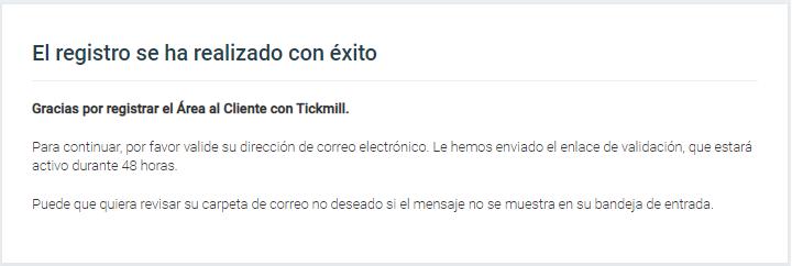 registro completado en Tickmill
