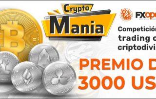 Concurso cryptomania de FXOpen