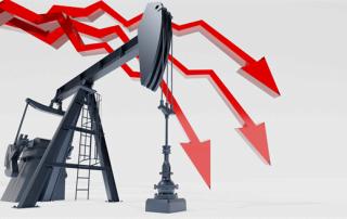 Precio del petróleo cae debajo de cero