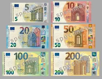 El Euro (EUR) – Caracteristicas Principales