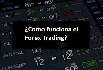 ¿Como funciona el Forex trading??