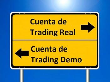 Trading en cuentas demo vs cuentas reales