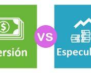 Inversión vs especulación